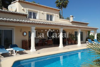 Classic modern holiday home in Moraira with stunning sea views and near the centre of the village.