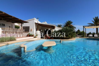 Panoramic view this holiday home in Benissa with private pool